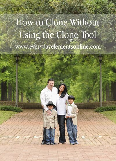 How to Clone Without Using the Clone Tool
