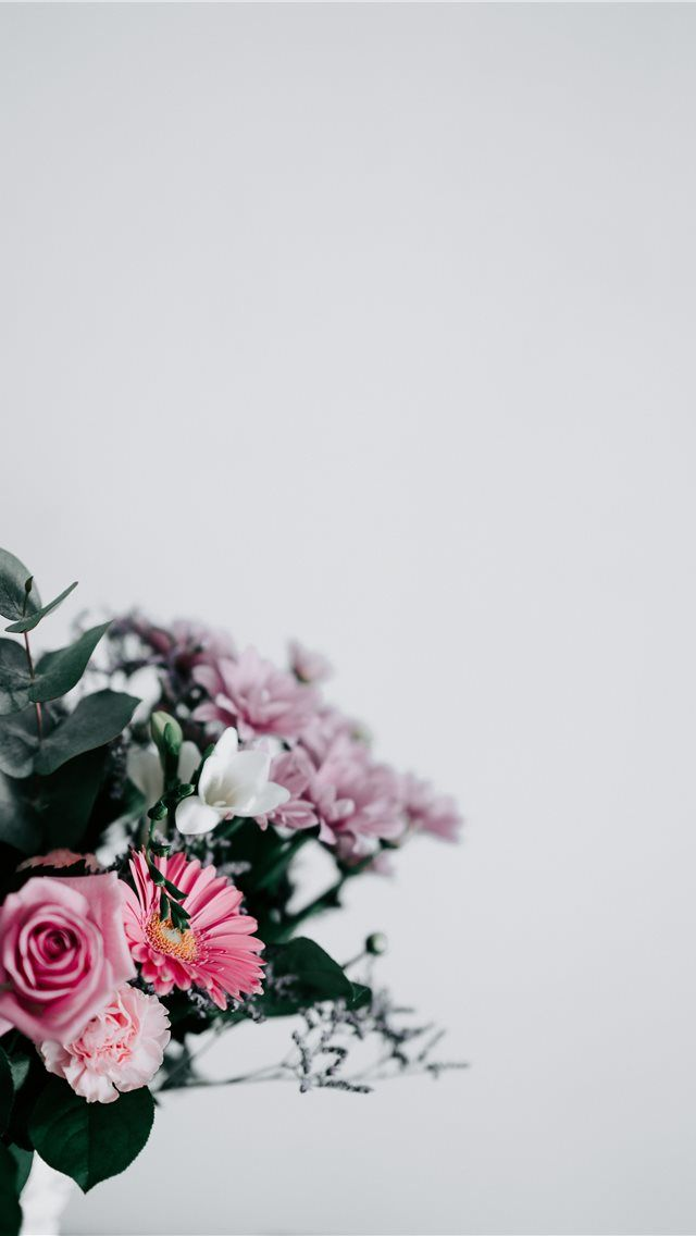 Flowers With Blank Space Flower Floral Negative Space Flower Background Iphone Flower Iphone Wallpaper Space Iphone Wallpaper