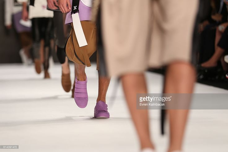 Models, fashion detail, walk the runway for Robert Mapplethorpe by... News Photo | Getty Images