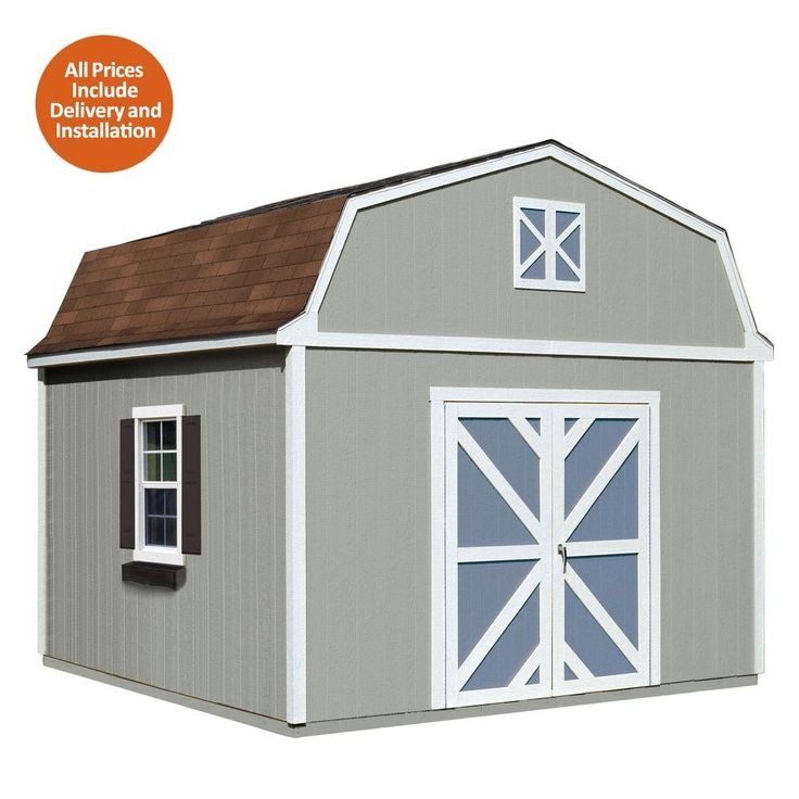 Best Handy Home Products Installed Sequoia 12 Ft X 12 Ft Wood 400 x 300