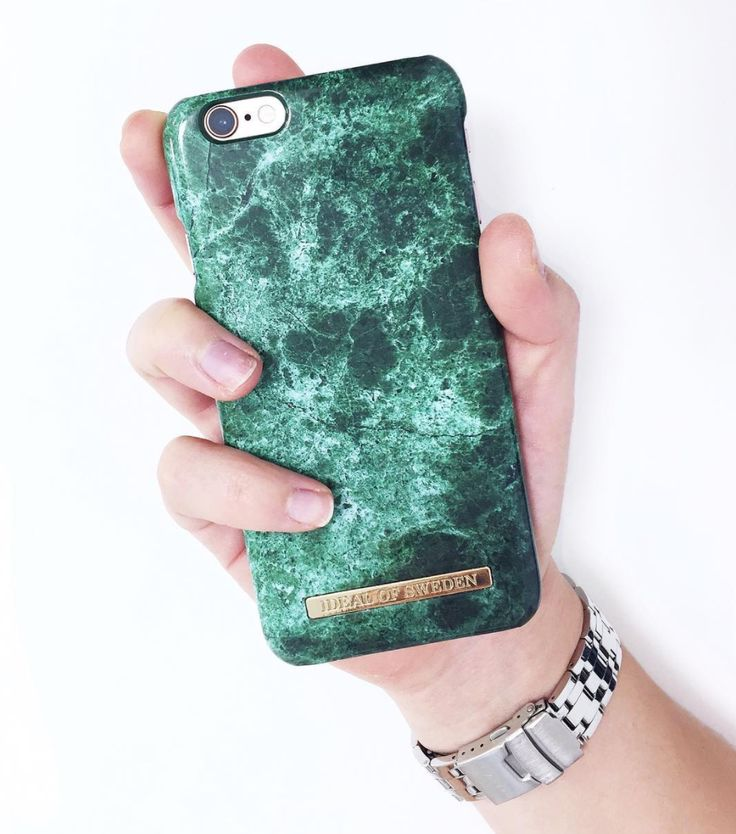 Green Marble by @nordh90 - Fashion case phone cases iphone inspiration iDeal of Sweden