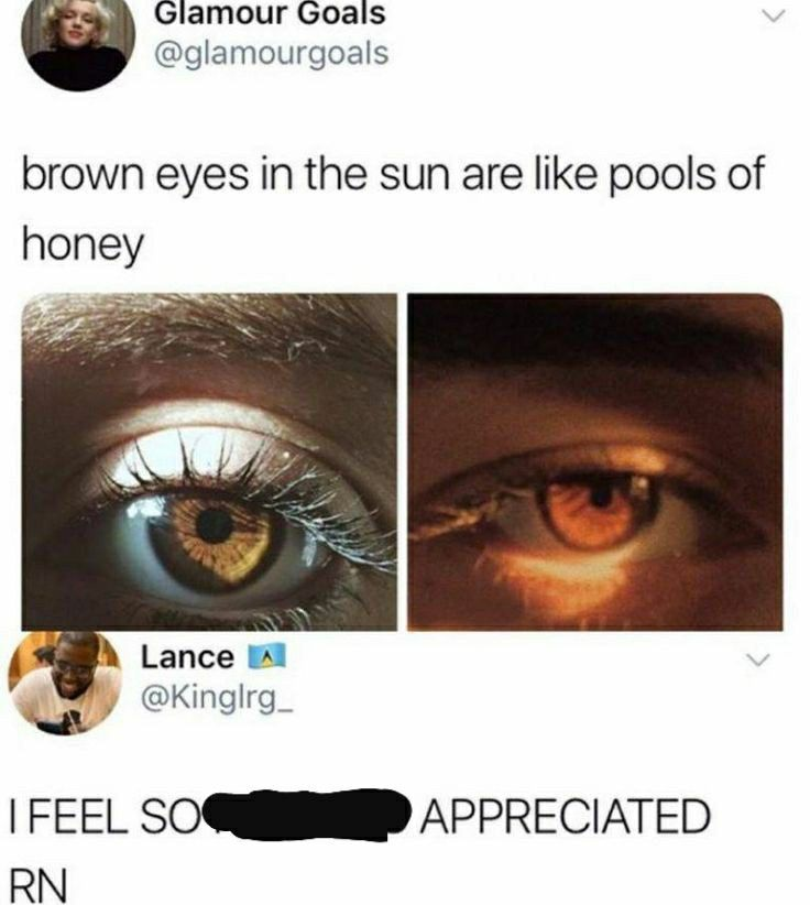 This Just Made Me Love My Brown Eyes Funny Quotes Memes Funny