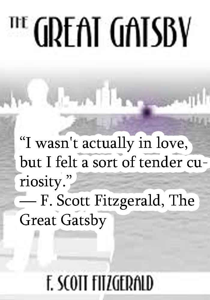 true love in the great gatsby The great gatsby - the great gatsby —— by f scott fitzgerald extravagant magnificent the huge 百度首页 connection between love and money in reality money is.