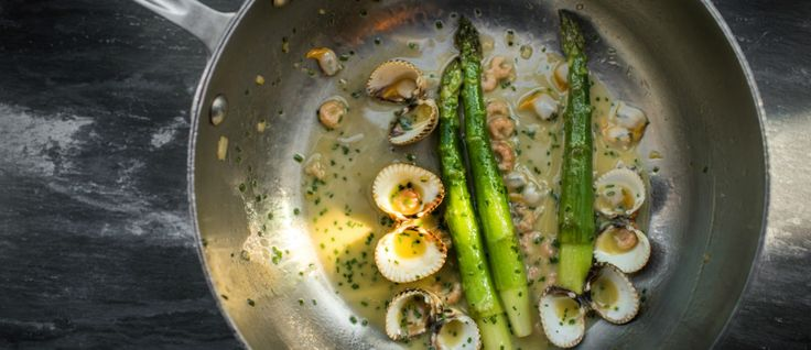 Tom Kitchin recipe: Asparagus and cockles with butter emulsion - Scotsman Food & Drink