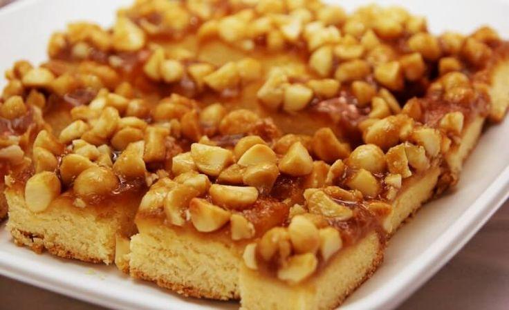 Torta con noci di macadamia