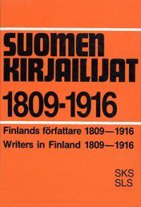 Nimeke: Suomen kirjailijat 1809-1916 - Tekijä: Maija Hirvonen - ISBN: 9517177143 - SKS