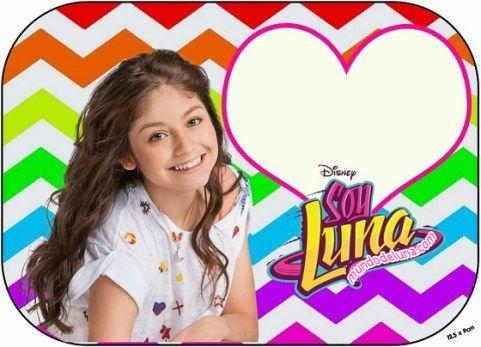 stickers de Soy Luna - marcos de soy luna - toppers de soy luna - soy luna marcos para fotos - etiquetas soy luna - imagenes soy luna