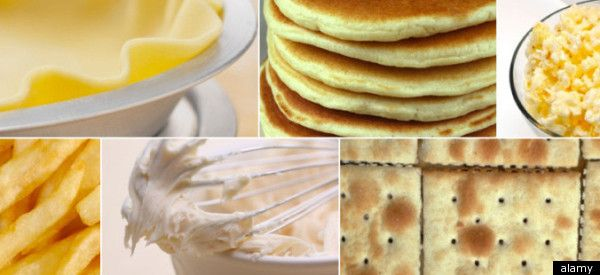 22 examples of trans fat