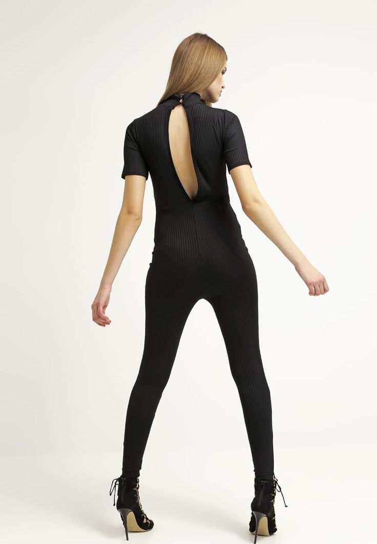 Missguided Jumpsuit - black for £30.00 (30/03/16) with free delivery at Zalando