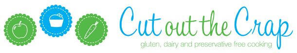 Cut Out The Crap - gluten, dairy and preservative free.