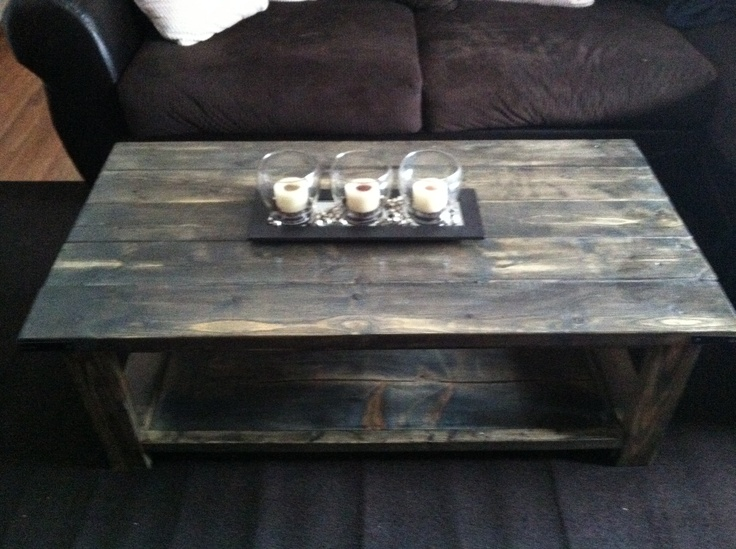 Rustic Coffee Table Using 2x4 And 2x6 | Our Pinterest Creations | Pinterest  | Rustic Coffee Tables, Coffee Tables And Rustic