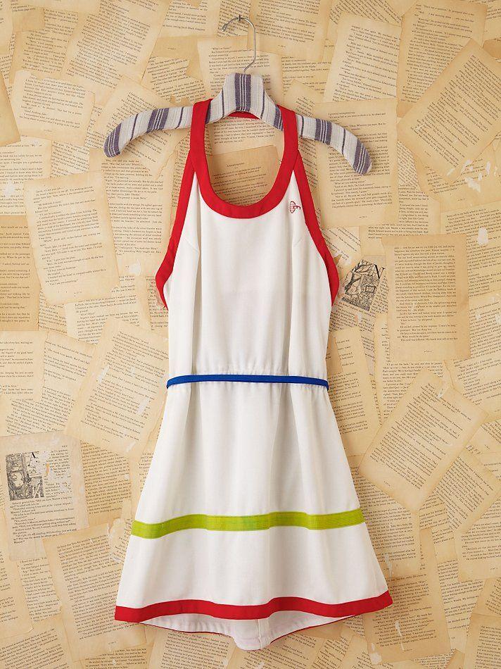 Vintage tennis dress #wimbledonworthy