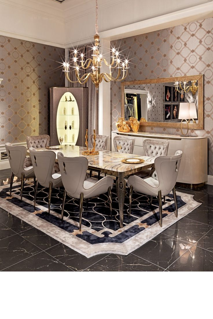 25 best ideas about luxury dining room on pinterest formal dining decor elegant dining room - Dining interior design ...