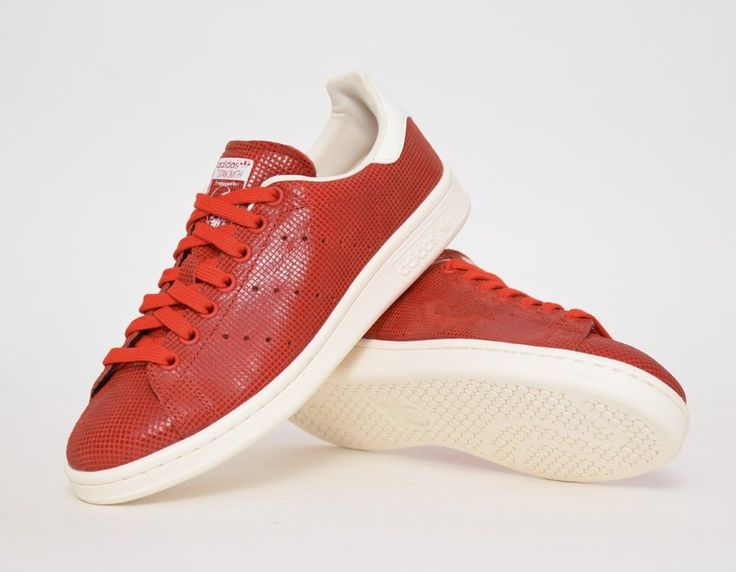stan smith womens red