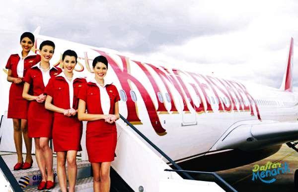 Seragam Pramugari Maskapai Kingfisher Airlines