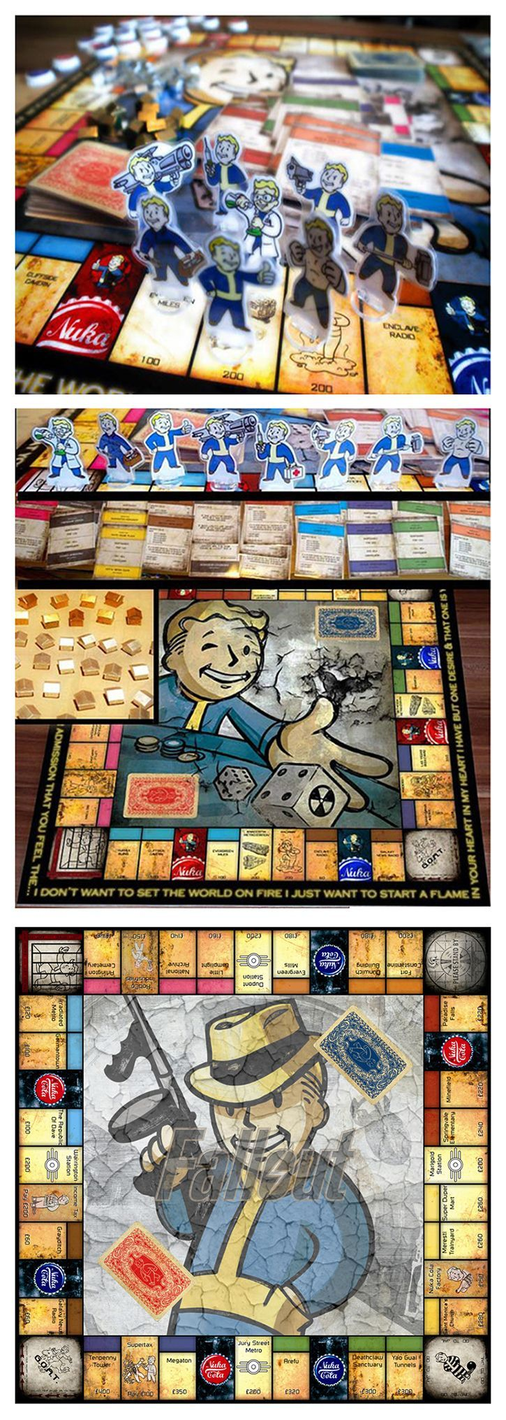 Fallout Monopoly. I NEED this.