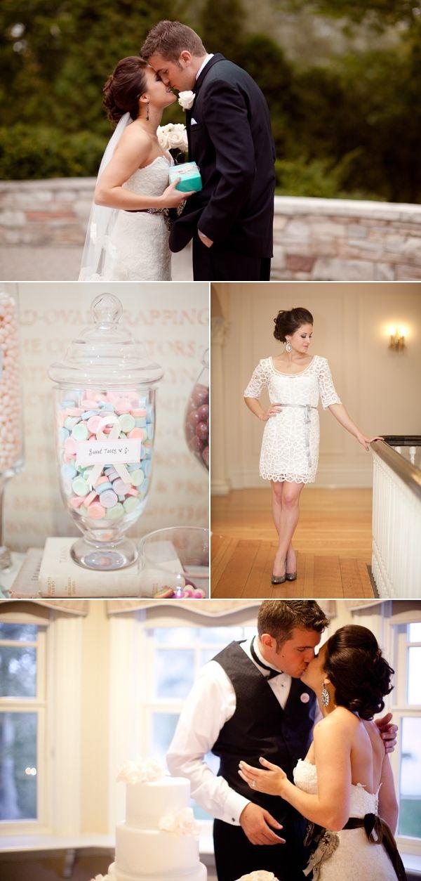 lace reception dress