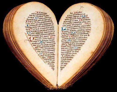 Heart shaped book!