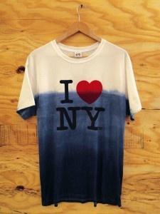 "Sebastian Errazuriz designed this ""I Still Love NY"" shirt to raise money for Hurricane Sandy relief."