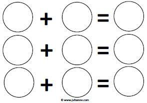 * Met deze kleurensommen leren de kinderen te mengen. Neem de primaire kleuren en laat de kinderen deze in de vakjes aangeven. Uiteindelijk mengen ze deze kleuren en komt het antwoord op de som. Als het kan, probeer dit werkblad dan te kopiëren op A3 formaat.
