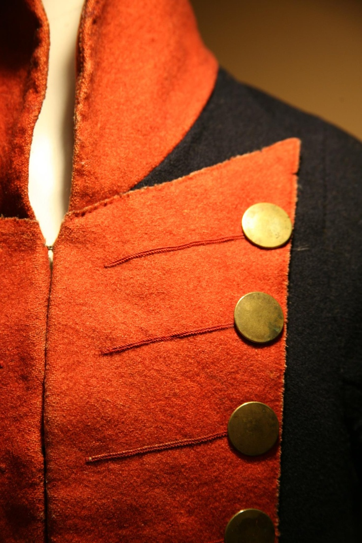 Virginian coat in the Virginia War Museum