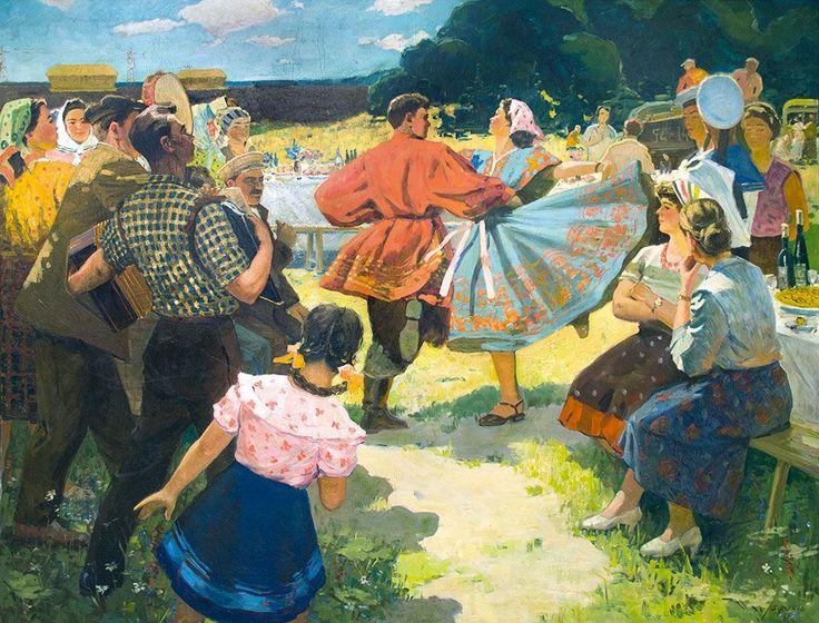 Жуков Б.В.  —Праздник урожая. : 1967 г.