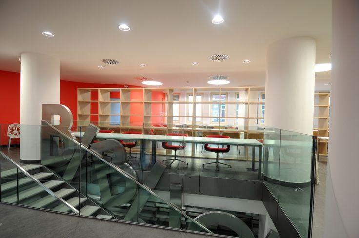 La nuova biblioteca del collegio universitario Einaudi, sezione Po.  Progetto di ristrutturazione di Luca Moretto