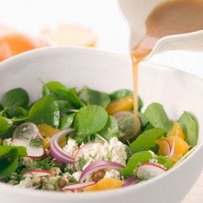 Заправка для салатов с бальзамическим уксусом