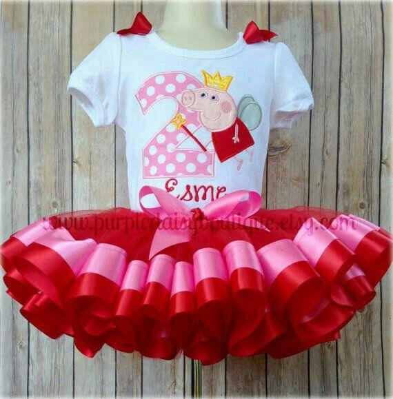 Vestido de fiesta Peppa Pig
