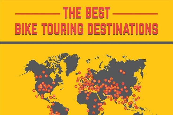 Cykelrejser – de 159 bedste destinationer til langdistance cykling