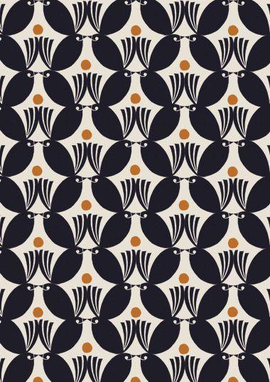 Art Nouveau pattern by Debbie Powell