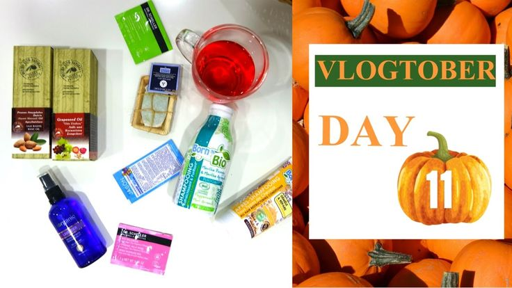 VLOGTOBER DAY11! UNBOXING ORGANIC BRANDS. (CRUELTY FREE,VEGAN,GR PRODUCT...