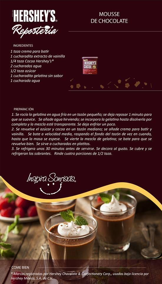 Hoy compartimos contigo una deliciosa receta preparada con nuestra Cocoa…