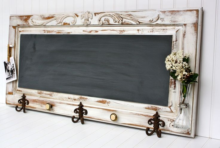 XLarge French Country Chalkboard Wall Rack. $129.00, via Etsy.