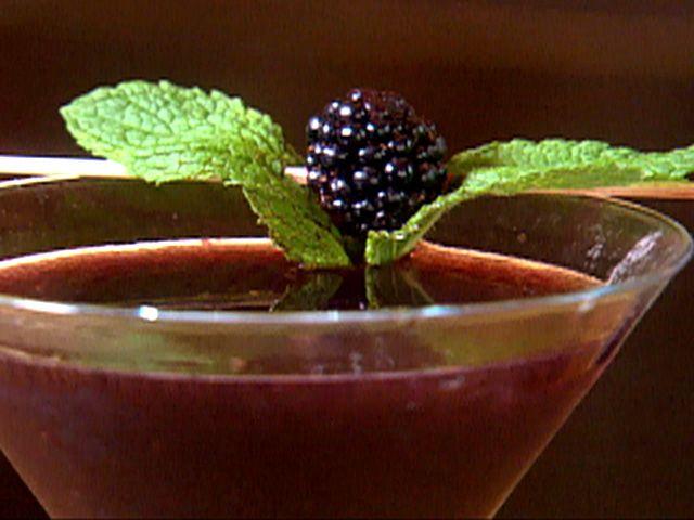 Batini Black - vodka, blue curacao  fresh blackberries, champagneBlackberries Martinis, Blue Curacao, Grapefruit Juice, Four Seasons, Black Recipe, Congress Bridges, Simple Syrup, Cooking Channel, Batini Black