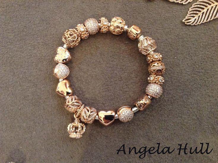 pandora armband 20 cm rosegold