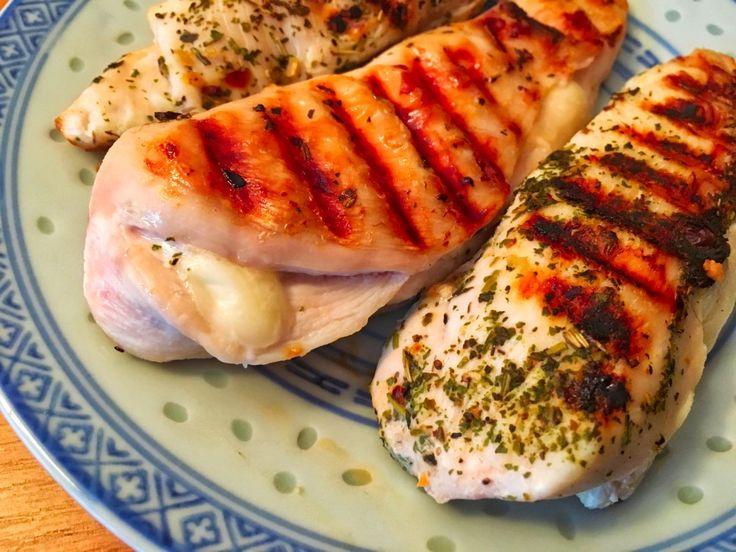 Sajtos sonkás csirkemell, gluténmentes, paleo.