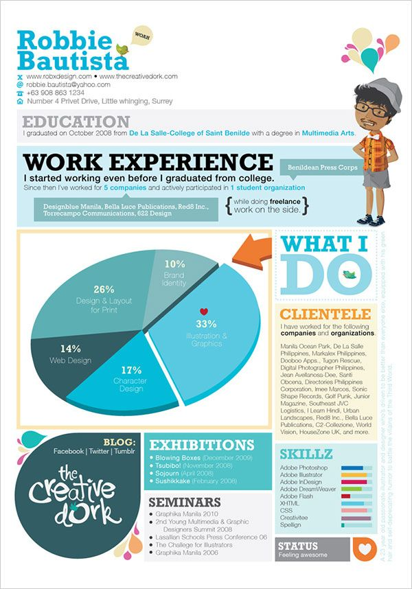 simple yet creative resume 10 interesting simple resume examples you would love to notice