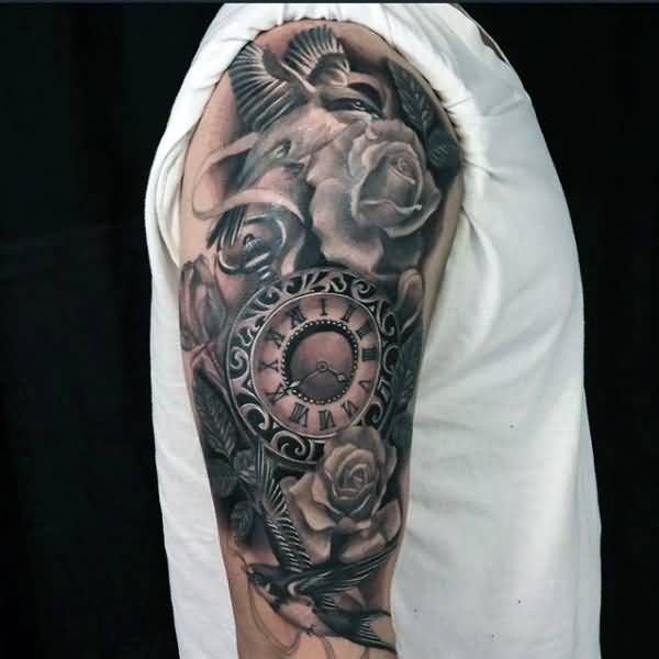 Realistic pocket watch tattoo  45 besten Realistic Pocket Watch Tattoo Bilder auf Pinterest ...