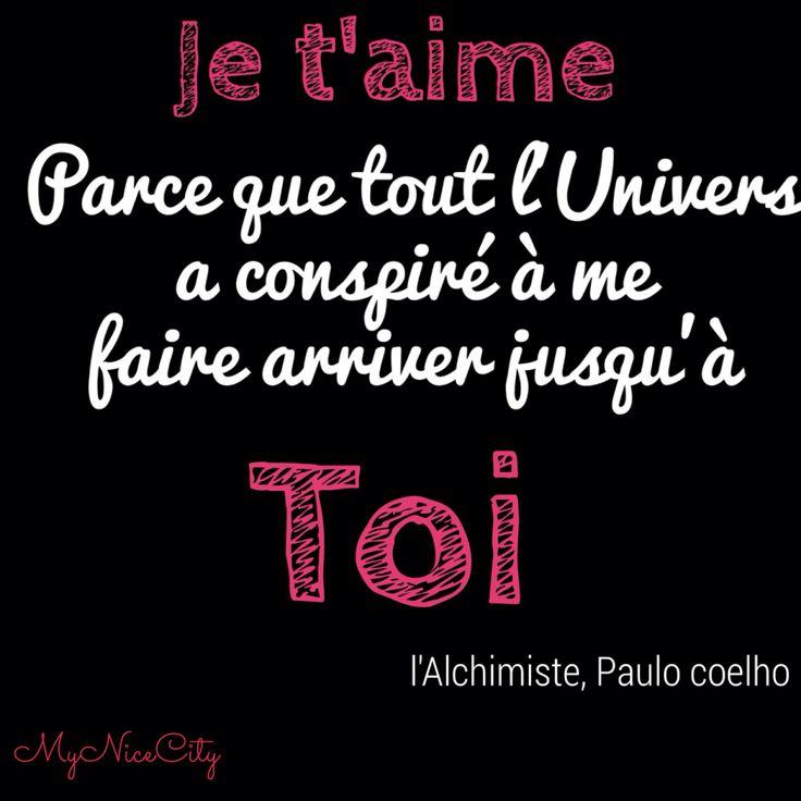 Citation Paulo Coelho - #MyNiceCity #Amour