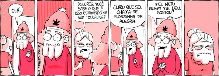 Sweet Bleeding: As tirinhas da Dona Anésia