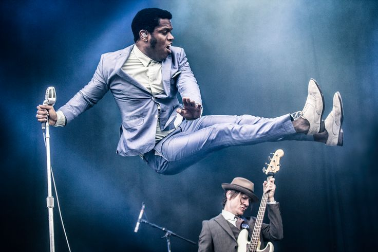 Ty Taylor and Vintage Trouble ~ Mitchell Giebels Photography