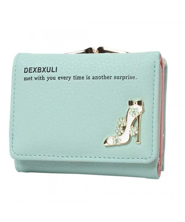 0e8e2fbf35d1 6 Color Small Wallets for Women With Metal Frame Kiss-lock And Coin ...