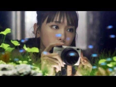 ▶ 【高画質CM】 かわいい! 新垣結衣 キヤノンEOSM2 120秒バージョン - YouTube