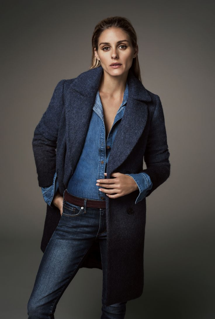Banana Republic's wool-blend coat pairs with all of our fall essentials.