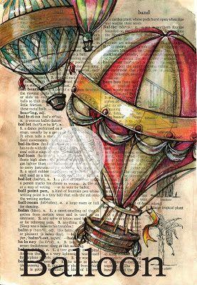 globo aerostatico ilustracion - Buscar con Google