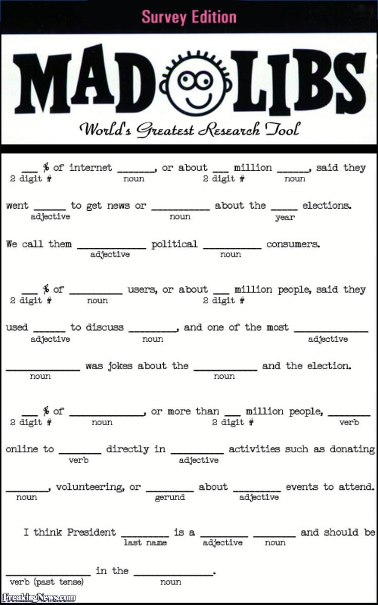 It's just an image of Crazy Mad Libs for Adults Printable