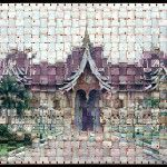 Photographs Made from Woven Film Strips by Seung Hoon Park