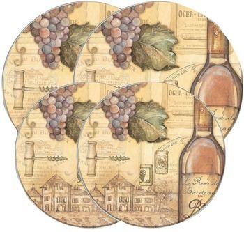 Round Burner Kovers Tuscany Wine Case Pack 2