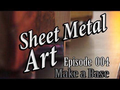 Sheet Metal Art For Beginners – Mitchell Dillman